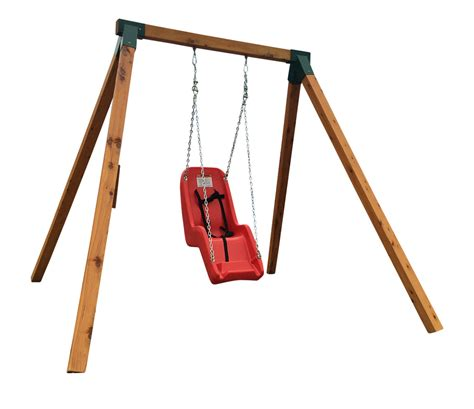 swinging for singles swing frame swing sets