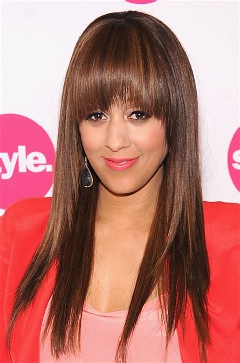tia mowry long straight hair extensions hairstyle hot tia mowry flaunts her hot hair at the style upfront