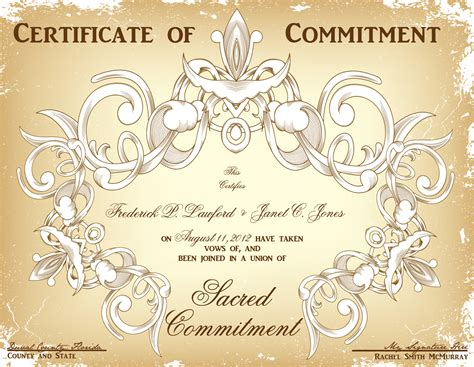 wedding planner: Marriage Commitment Ceremony