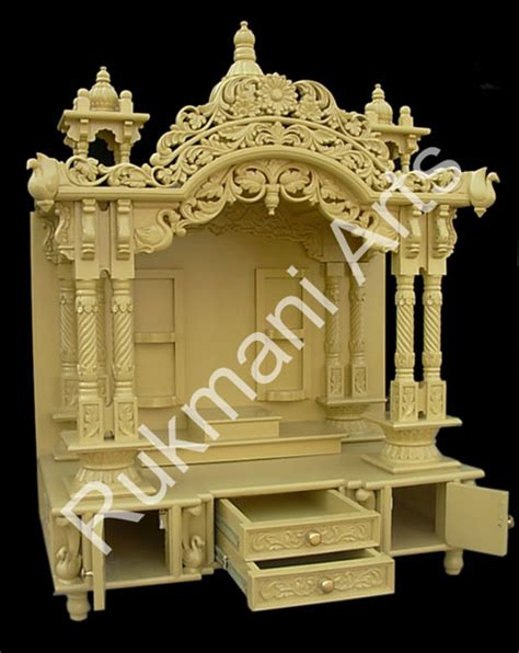 code 40 wooden carved teakwood temple mandir furniture