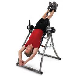 the motorized inversion table hammacher schlemmer