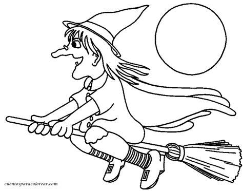 imagenes de brujas bonitas para dibujar dibujos para colorear brujas