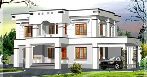 1062 sq ft 3 bedroom low budget house indian home decor stylish flat roof home design 2400 sqft kerala home