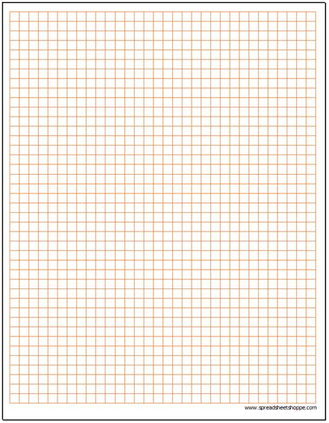How To Make Graph Paper - cartesian graph paper template spreadsheetshoppe