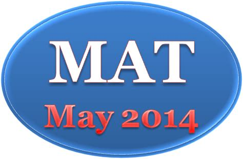 Mat Test For Mba by Management Aptitude Test Mat May 2014 Career