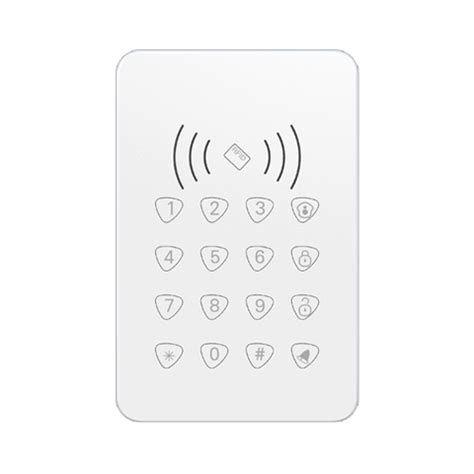Smart Alarm System Password Touch Pad Sensor Getar wireless alarm system with hd