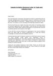 sle business invitation letter doc 430585 invitation event sle sle business event invitation letter 73 related docs