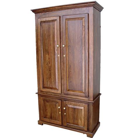 amish woodworking 50511b portofino ii 10 gun cabinet