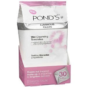 Drugstore Ponds Clean Sweep Cleansing Towelettes by Ponds Luminous Clean Towelettes Reviews Photo