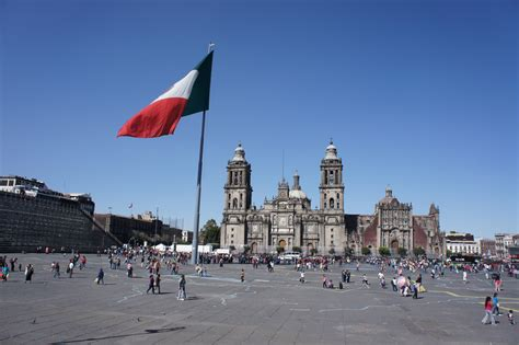 zocalo jobs en el zocalo main square with the cathedral in the