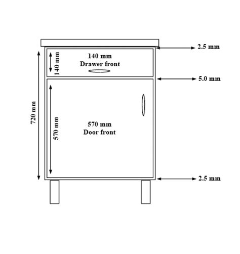 kitchen cabinet and drawer dimensions myideasbedroom