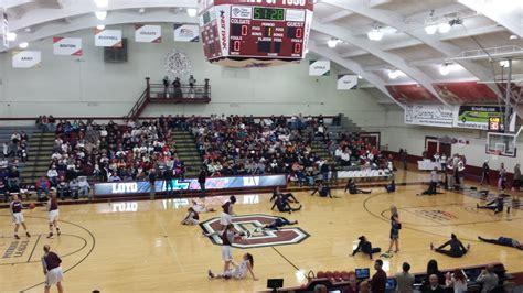 College Basketball Letterwinner cotterell court