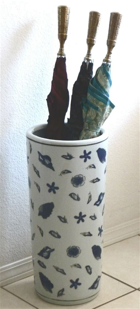 ceramic umbrella stand seaside   sale