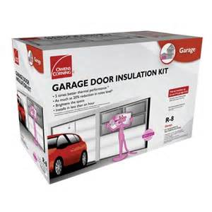 garage door insulation kit from owens corning at ace hardware