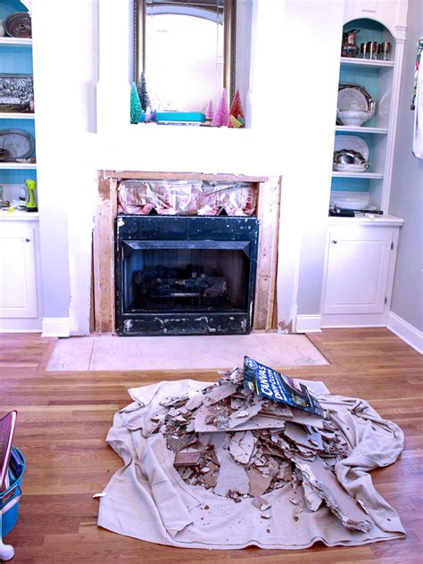 Removing Tile From Fireplace by How To Remove Fireplace Tiles