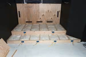 How To Build A Media Room Platform - 2nd row seat riser photos please page 3 avs forum home theater discussions and reviews