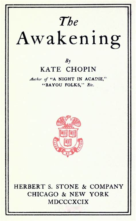 the of freedom a guide to awakening books kate chopin in search of freedom