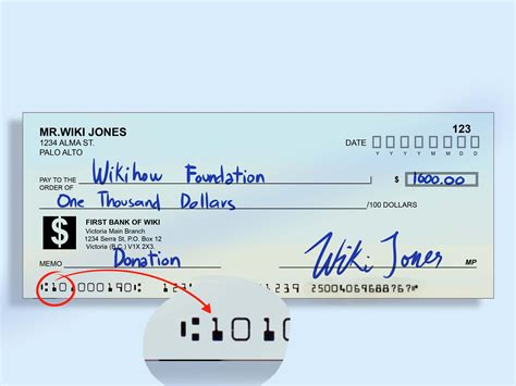 how to find bank routing number how to locate a check routing number 8 steps wikihow
