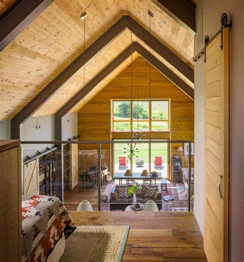 rustic modern barn home interiors wooden barn house in