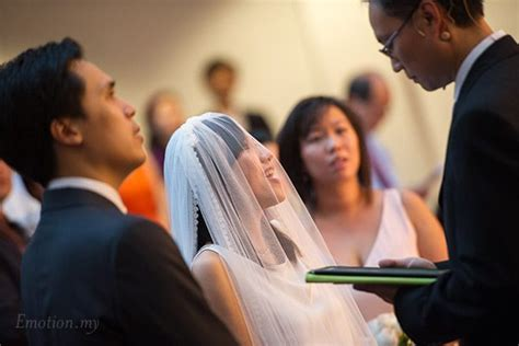 Wedding Ceremony Worship Songs by Christian Wedding Pantai Baptist Church And Reception At