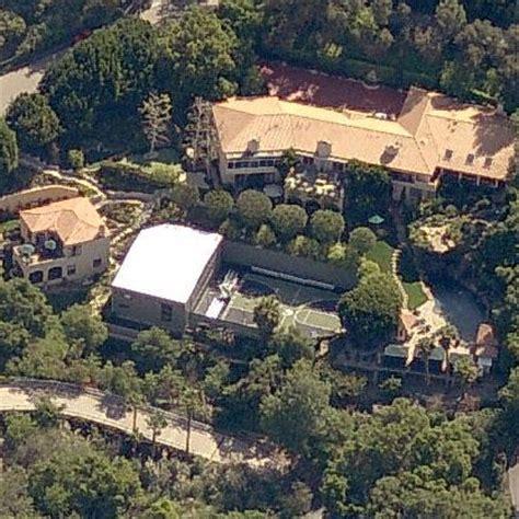 Magic Johnson House by Beverly Mansion Where Nba Magic Johnson Livesstar Map