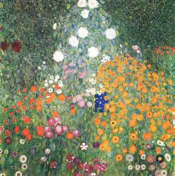 Gustav Klimt Flower Garden Flower Garden Gustav Klimt Wikiart Org Encyclopedia Of Visual Arts