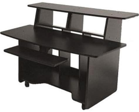 omnirax presto studio desk the best studio desk for recording and producing
