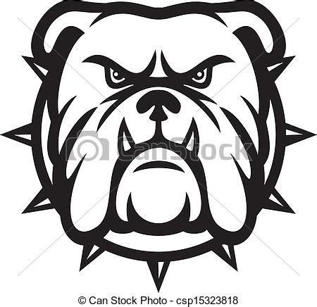 imagenes vector bulldog vector clip art de bulldog cabeza angry bulldog