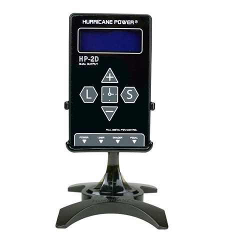 united tattoo supply hurricane hp 2d dual digital lcd power supply