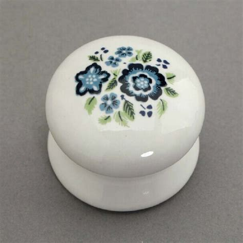 porcelain knobs for kitchen cabinets drawer knob white and blue porcelain kitchen cabinet knobs