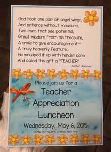 appreciation luncheon letter to parents best 25 appreciation luncheon ideas on