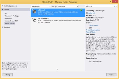 xamarin sqlite tutorial wow now whole sqlite set up process is completed so now