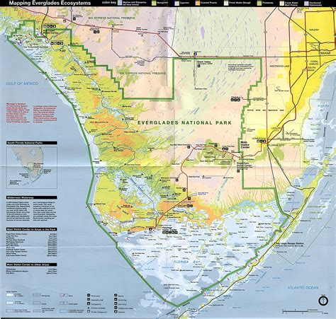us map states florida maps of everglades national park ecosystems map florida