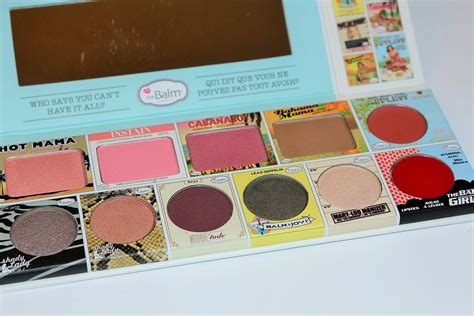 The Balm In Thebalm Of Your thebalm in thebalm of your palette review swatches