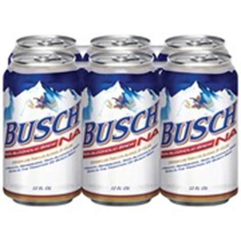 Busch Light Calories by Busch Non Alcoholic 12 Oz Calories Nutrition