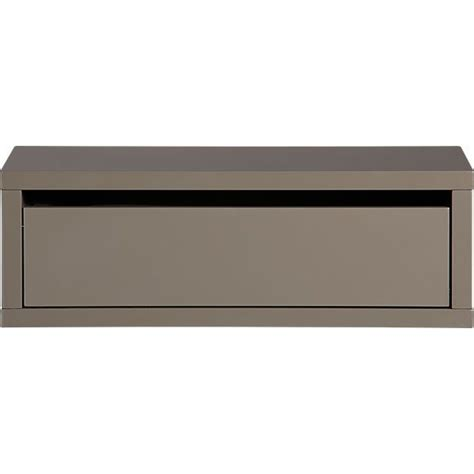 Wall Mount Cable Box Shelf by Slice Grey Wall Mounted Storage Shelf Wall Mounted
