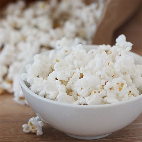 tips  perfect brown bag air popped popcorn healthy