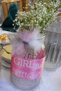 diy baby shower vase with baby s breath centerpiece