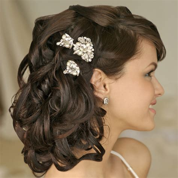 Best Cool Hairstyles: bridesmaid hairstyles half up