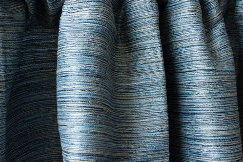 raw silk curtain panels rustic blue raw silk window curtain panels custom by