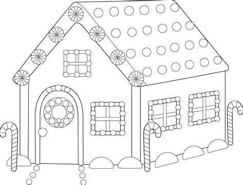gingerbread house coloring page gingerbread house coloring page free clip art