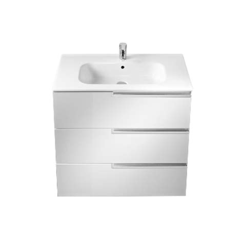 Basin Drawer Unit by Roca N 800mm Drawer Unit And Basin 3 Drawers
