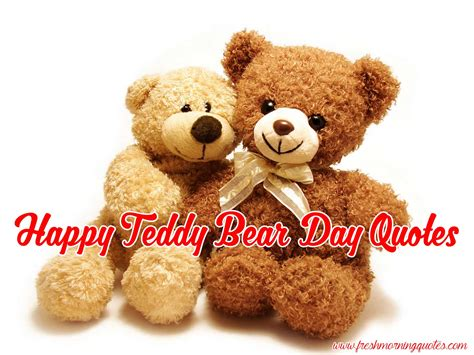 day bears teddy day 2018 quotes sayings and images