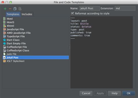 jekyll layout not working using webstorm to maintain a jekyll site hadi hariri