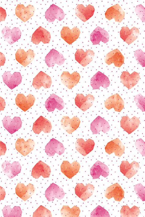 printable wrapping paper hearts 25 best ideas about watercolor heart on pinterest human