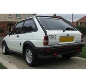 Ford Fiesta XR2 Mk1 1981 1983 &amp Mk2 1984 1989
