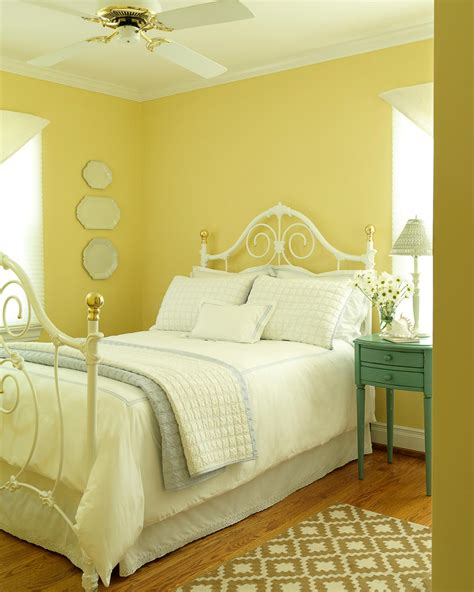 Yellow Bedrooms Images by Yellow Cottage Bedroom Photos Hgtv