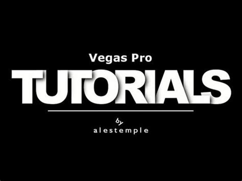 sony vegas pro lyrics tutorial sony vegas pro deinterlacing tutorial youtube