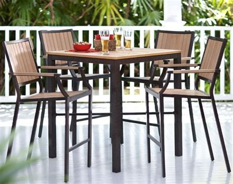 santa rosa 5 bar height set dining furniture