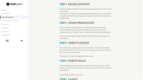 website design proposal beautiful sample web design proposal